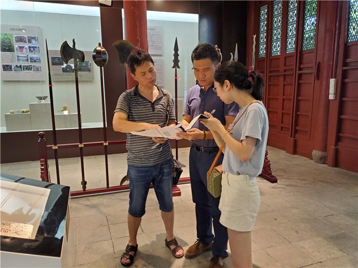 福州市于山风景区管理处接受福州晚报采访